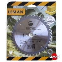 Пильные диски по дереву для циркулярных (дисковых) и торцовочных пил, для деревообрабатывающих станков LEMAN