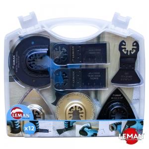 Универсальный набор полотен для реноватора (МФИ) 12 шт. LEMAN