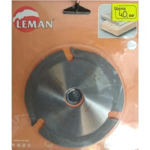 Диск по дереву 115 мм для болгарки (ушм) Leman