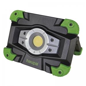 Фонарь (прожектор) светодиодный HUPlight10 pro с высококачественным массивным корпусом HAUPA