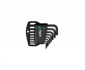 Набор штифтовых ключей TORX в держателе (8 предметов)
