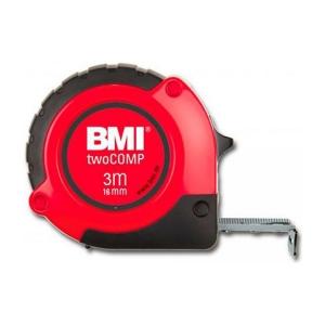 Измерительная (строительная) рулетка BMI twoComp 3m*16mm (3 метра) с магнитом