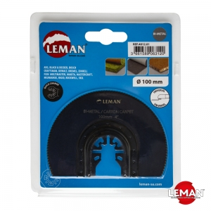 Полотно для реноватора (МФИ) по изоляционным материалам биметаллическое 100 мм LEMAN