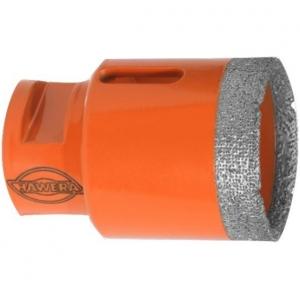 Алмазная коронка для сухого сверления керамики (35*35mm) Hawera