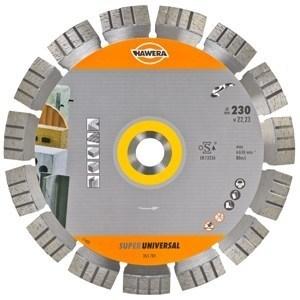 Алмазный диск (круг) по АРМИРОВАННОМУ бетону Super Universal HAWERA (350*25,4)