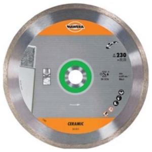 Алмазный круг (диск) по керамической плитке и керамике Hawera (125*22,23)