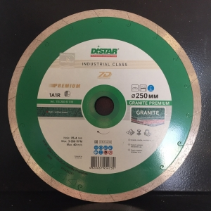 Алмазный диск (круг) 250 мм по граниту и мрамору GRANITE PREMIUM (7D)