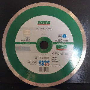 Алмазный диск (круг) 250 мм по граниту GRANITE (5D)