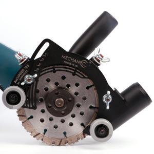 Система (насадка) пылеудаления штроборез-пылеотвод AirCHASER 125 мм