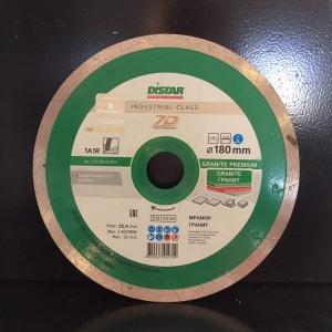 Алмазный диск (круг) 180 мм по граниту и мрамору GRANITE PREMIUM (7D)