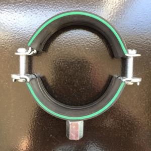 Хомут сантехнический 60-63 мм (2'') М8/M10 OPTIMAL с изол. DGL