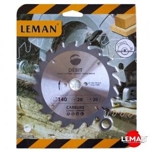 Пильный диск по дереву 140 мм LEMAN orange