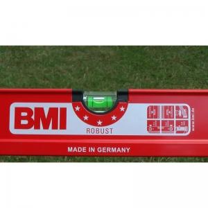 Уровень строительный профессиональный BMI Robust 60 см с отверстиями для рук