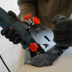 Приспособление на болгарку (УШМ) для резки под углом SLIDER 45 V2.0