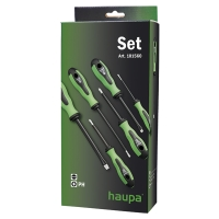 Набор двухкомпонентных отверток PH 6 штук HAUPA