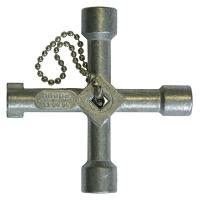 Ключ универсальный для распределительного шкафа 72*72 мм HAUPA