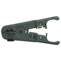 """Инструмент (стриппер) для снятия изоляции (оболочки) на кабеле """"витая пара"""" HAUPA"""