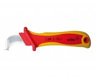 Нож для снятия оболочки с круглых кабелей 200 мм Wiha