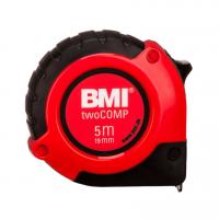Измерительная (строительная) рулетка BMI twoComp 5m*19mm (5 метров)