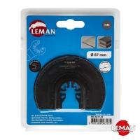 Твердосплавное полотно для реноватора (МФИ) для демонтажа керамической плитки 87 мм LEMAN