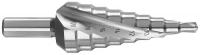 Ступенчатое сверло по металлу 4-20mm Hawera