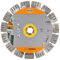 Алмазный диск (круг) по АРМИРОВАННОМУ бетону Super Universal HAWERA (125*22,23)