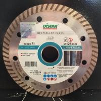 Алмазный диск (круг) 125 мм по бетону для болгарки TURBO UNIVERSAL (3D)