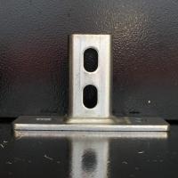 Фланец оцинкованный MPC-седлообразный для профиля 27/18-28/30 MUPRO