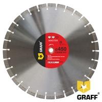 """Алмазный диск (круг) 450 мм по бетону и камню для бензореза GRAFF """"Master"""""""