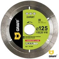 Алмазный диск (круг) 125 мм по керамограниту и керамике GRAFF EXPERT