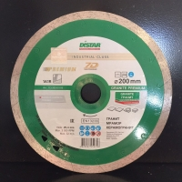 Алмазный диск (круг) 200 мм по граниту и мрамору GRANITE PREMIUM (7D)