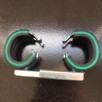 Хомут сантехнический двойной 18 мм VARIO с изол. DGL