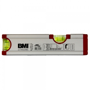 Уровень строительный профессиональный BMI UltraSonic с мощным магнитом 20 см